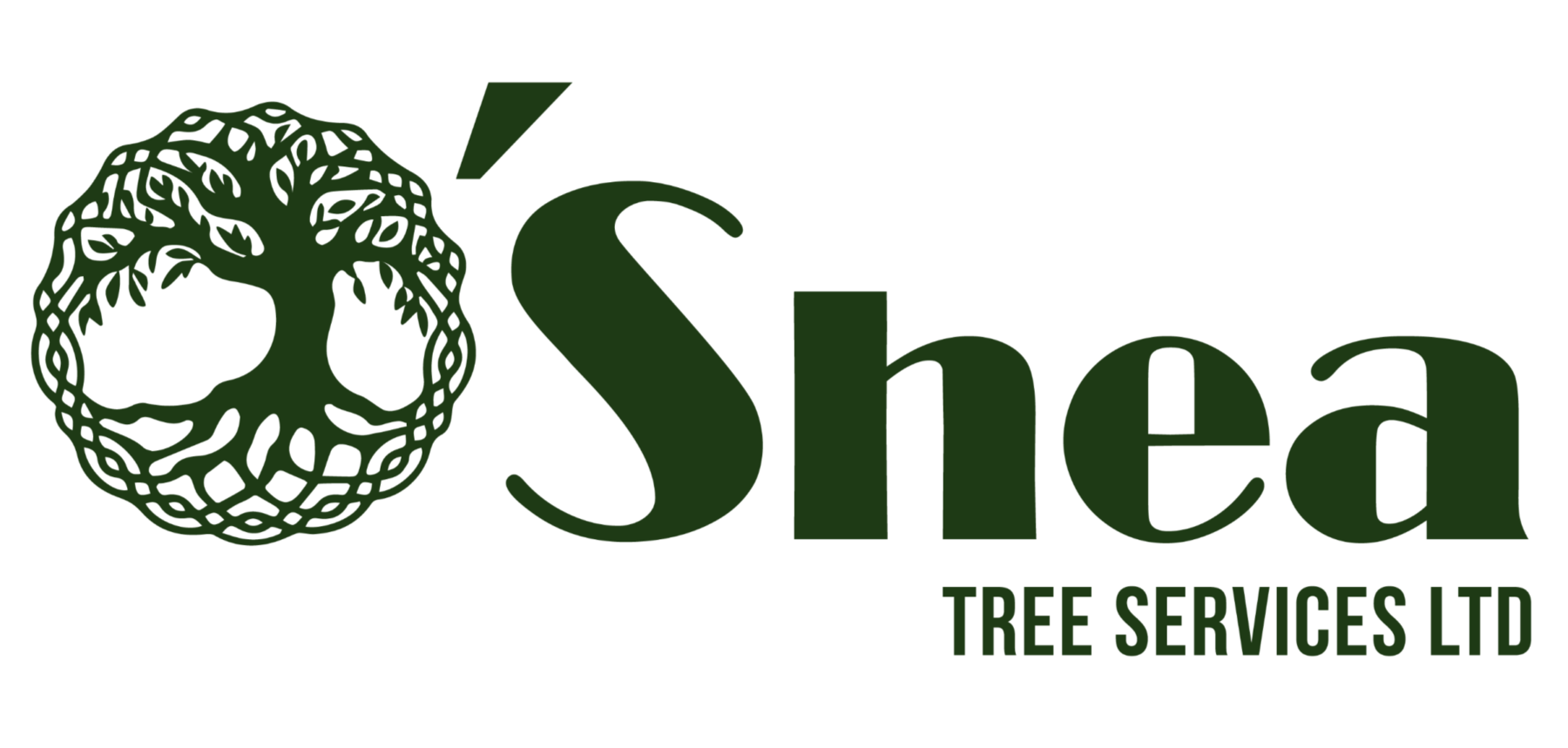 Bristol Marketing Company provided logo design, branding and graphic design for O'Shea Tree Services. Bristol Marketing Company also provided graphic design, website design, website development, professional photography and business card design.